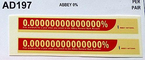 Abbey 0%