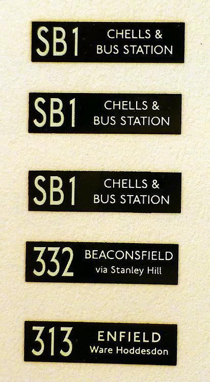 LNB/SNB Routes SB1/313/332