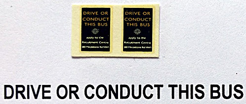 Drive Or Conduct