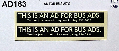 Ad For Bus Ad's