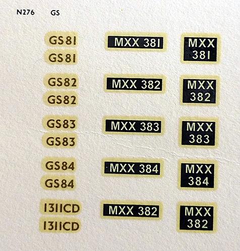 Gold GS81, GS82, GS83, GS84, 1311CD