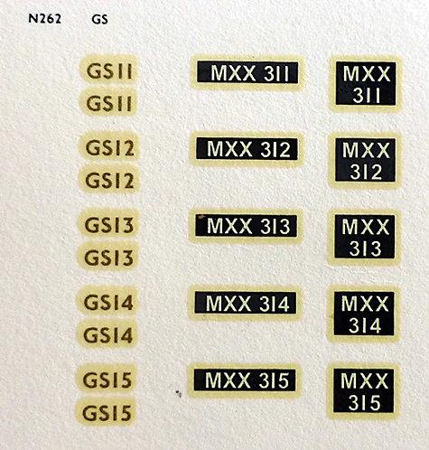 Gold GS11, GS12, GS13, GS14, GS15