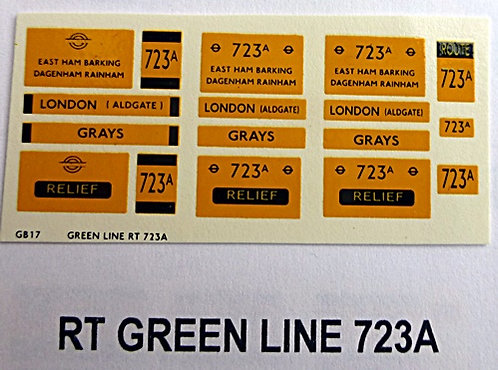 RT Green Line Blinds Route 723A