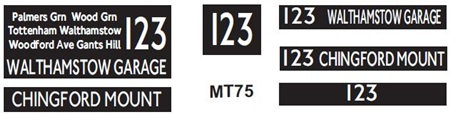 New M / T  Blinds Route 123