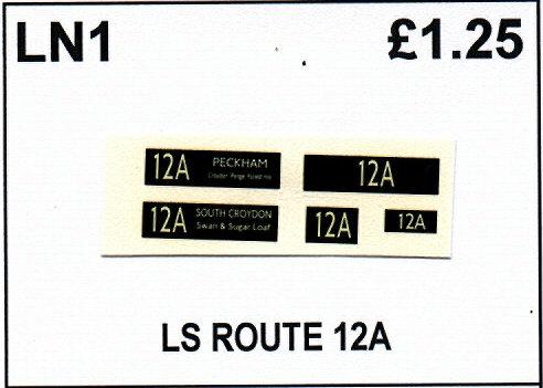LS Route 12A
