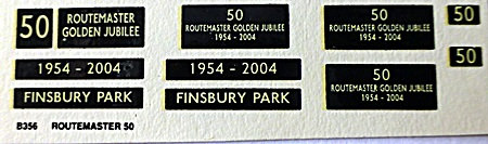 RM  50 (Routemaster Gold Jubilee)