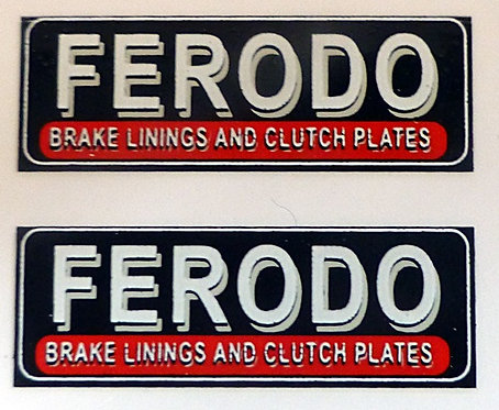 FERODO REAR ADVERT