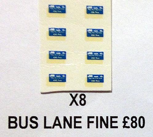 Misc:  Fine £80