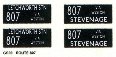 GS Route 807