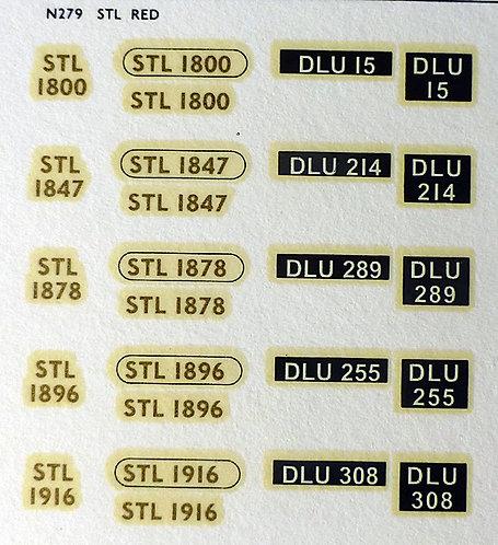 Gold STL1800, STL1847, STL1878, STL1896, STL1916