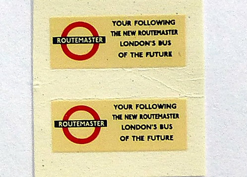 Routemaster Bus of the Future