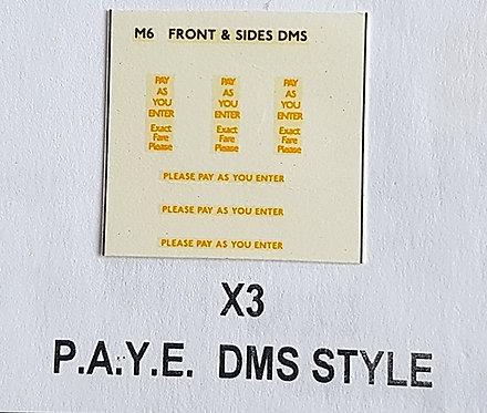 Misc: P.A.Y.E. DMS