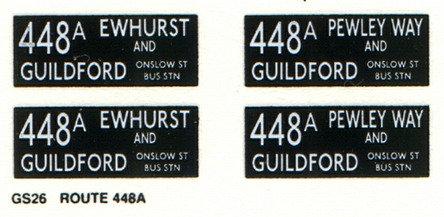 GS Route 448A