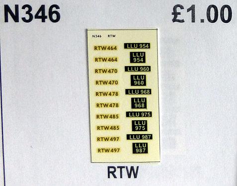 Gold RTW464, RTW470, RTW478, RTW485, RTW497