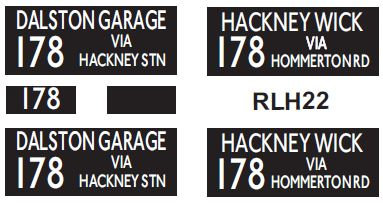 NEW RLH Blinds Route 178
