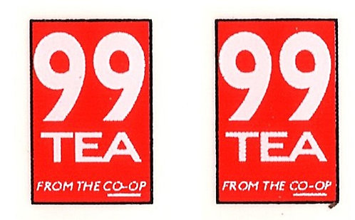 99 TEA FRONT ADVERTS