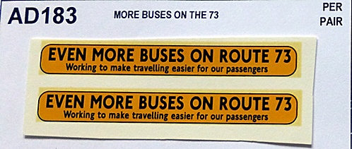 More Buses On Route 73