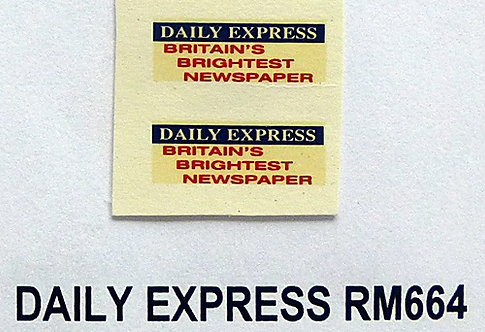 Daily Express RM664