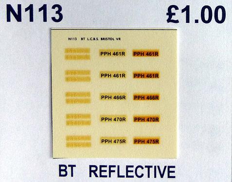 White BT1, BT3, BT6, BT10, BT15