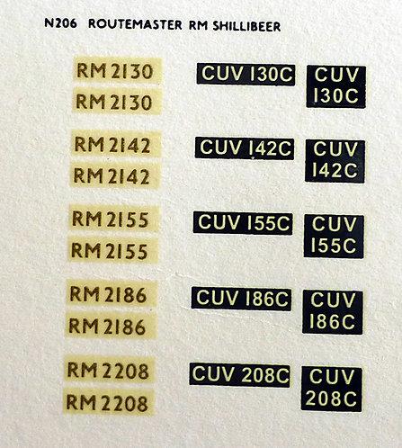 Gold RM2130, RM2142, RM2155, RM2186, RM2208
