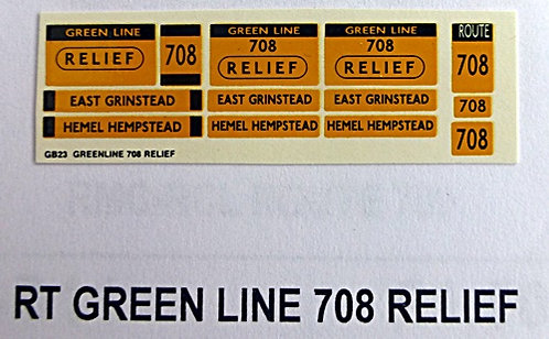 RT Green Line Blinds Route 708