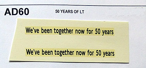 50 Years L.T.