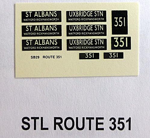 STL Route 351