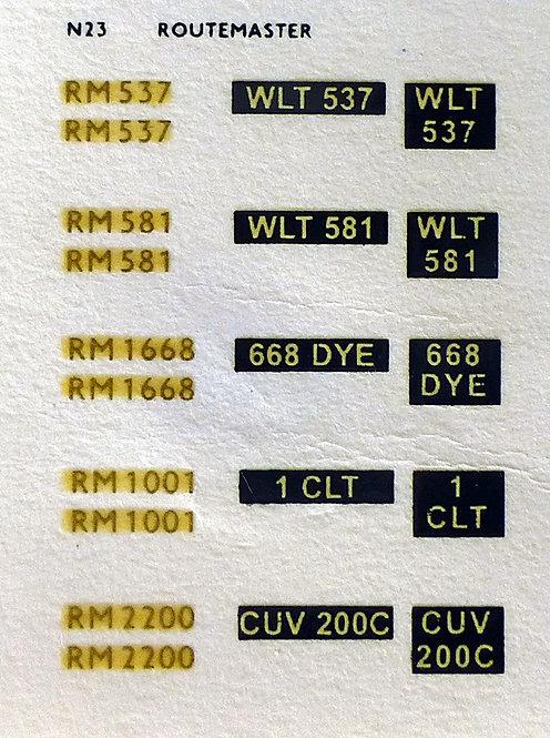 Gold RM537, RM581, RM1668, RM1001, RM2200