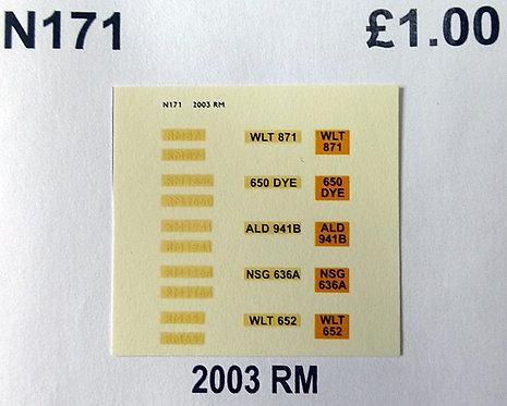 White RM652, RM871, RM1164, RM1650, RM1941