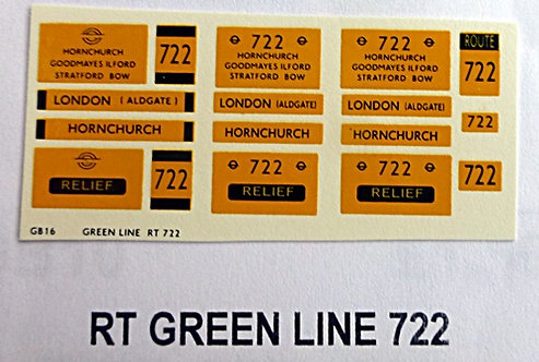 RT Green Line Blinds Route 722