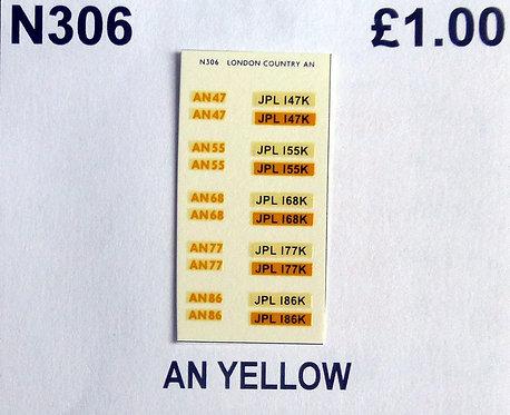 Yellow AN47, AN55, AN68, AN77, AN86