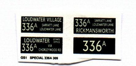 GS Route 336A