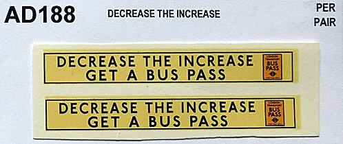 Decrease The Increase