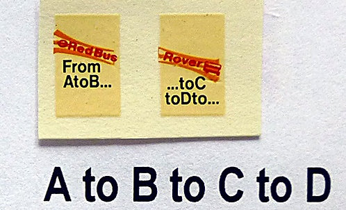 A to B to C to D
