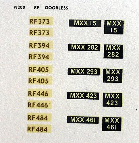 Gold RF373, RF394, RF405, RF446, RF484