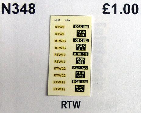 Gold RTW1, RTW13, RTW19, RTW22, RTW25