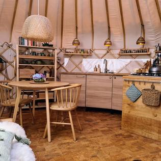 Keuken yurt Orion