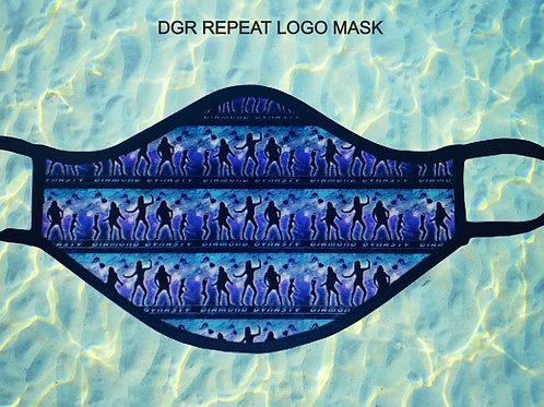 DGR REPEAT LOGO MASK