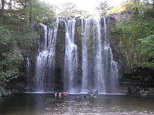 Amazing waterfalls in Costa Rica volcano tours