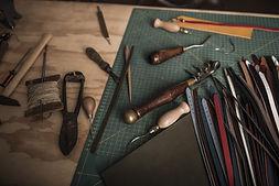 가죽 작업 도구