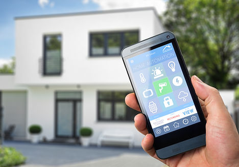 smart house, home automation, device wit