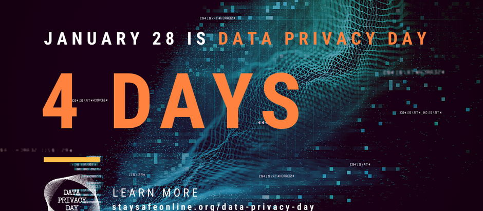 Hey Privacy Pros! Here's some last-minute ideas for Data Privacy Day