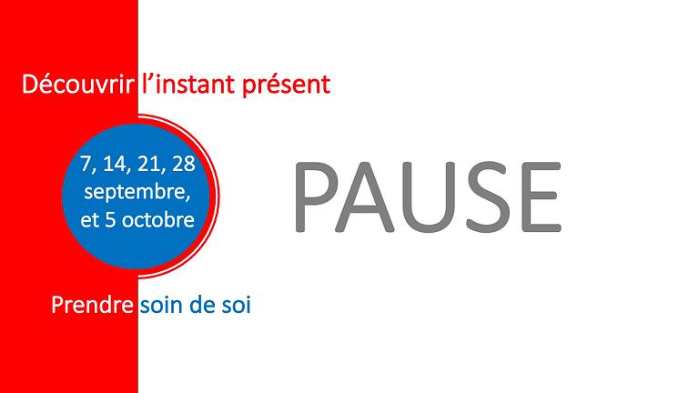 PAUSE, Parcours d'introduction à la pleine présence (2)