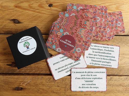 Jeux de 50 cartes sur l'autocompassion