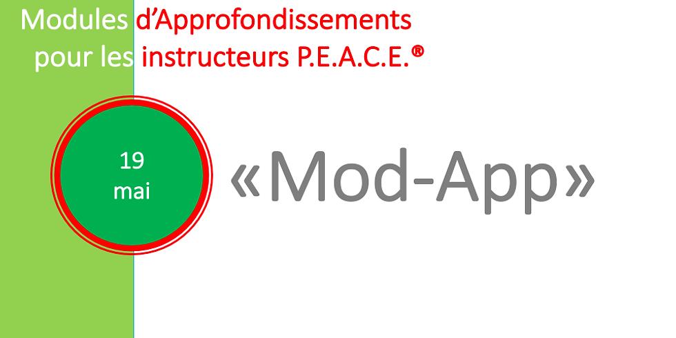Approfondissement pour instructeurs P.E.A.C.E.® (1)