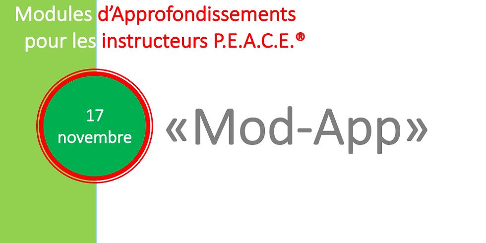 Approfondissement pour instructeurs P.E.A.C.E.® (2)