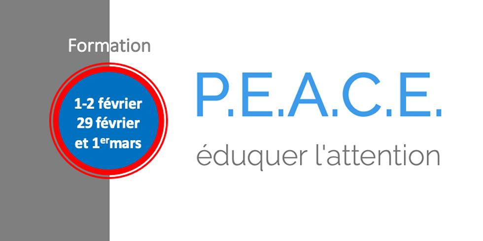 Formation au programme P.E.A.C.E.®