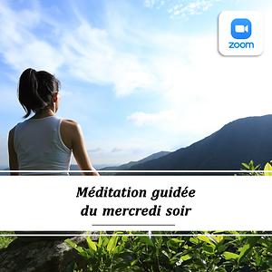 Méditation guidée mercredi