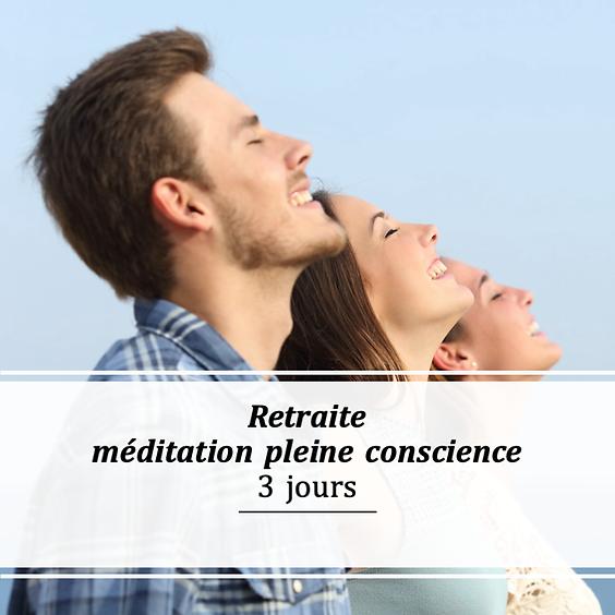 Retraite méditation pleine conscience - 23 octobre