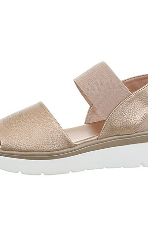 Stylish Flat Sandal With Wide Straps